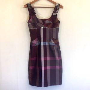 Anthropologie Rare! Yoana Baraschi Plaid Dress